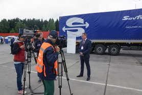 Мероприятие посетил заместитель губернатора Смоленской области А.А. Борисов