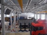 Посты для обслуживания грузовых автомобилей и прицепной техники