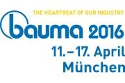 Посетите наш стенд на выставке Bauma 2016