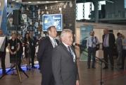 Вступительная речь E.C. Москвичёва (Президент АСМАП), на втором плане А.Н. Курушин (Генеральный директор АСМАП)