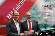Полуприцепы Kogel Novum выигрывают Первое место в категории «Концепция» Trailer Innovation 2019 на выставке IAA в Ганновере.
