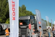 KOGEL на тест-драйве Scania