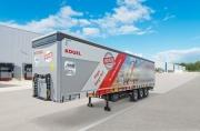 Полуприцеп Kögel Cargo Rail поколения NOVUM